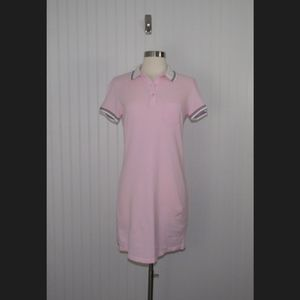 Forever 21 Pink Polo Shirt Dress
